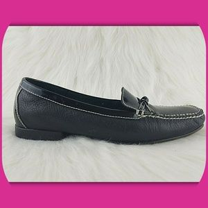 COLE HAAN Patent & Leather Loafers